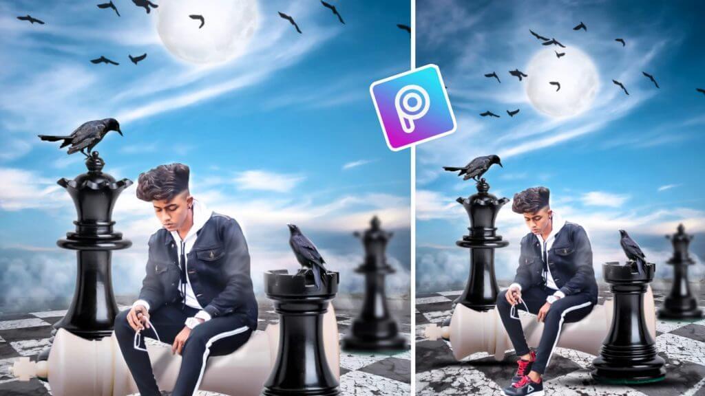 Chess Photo Editing