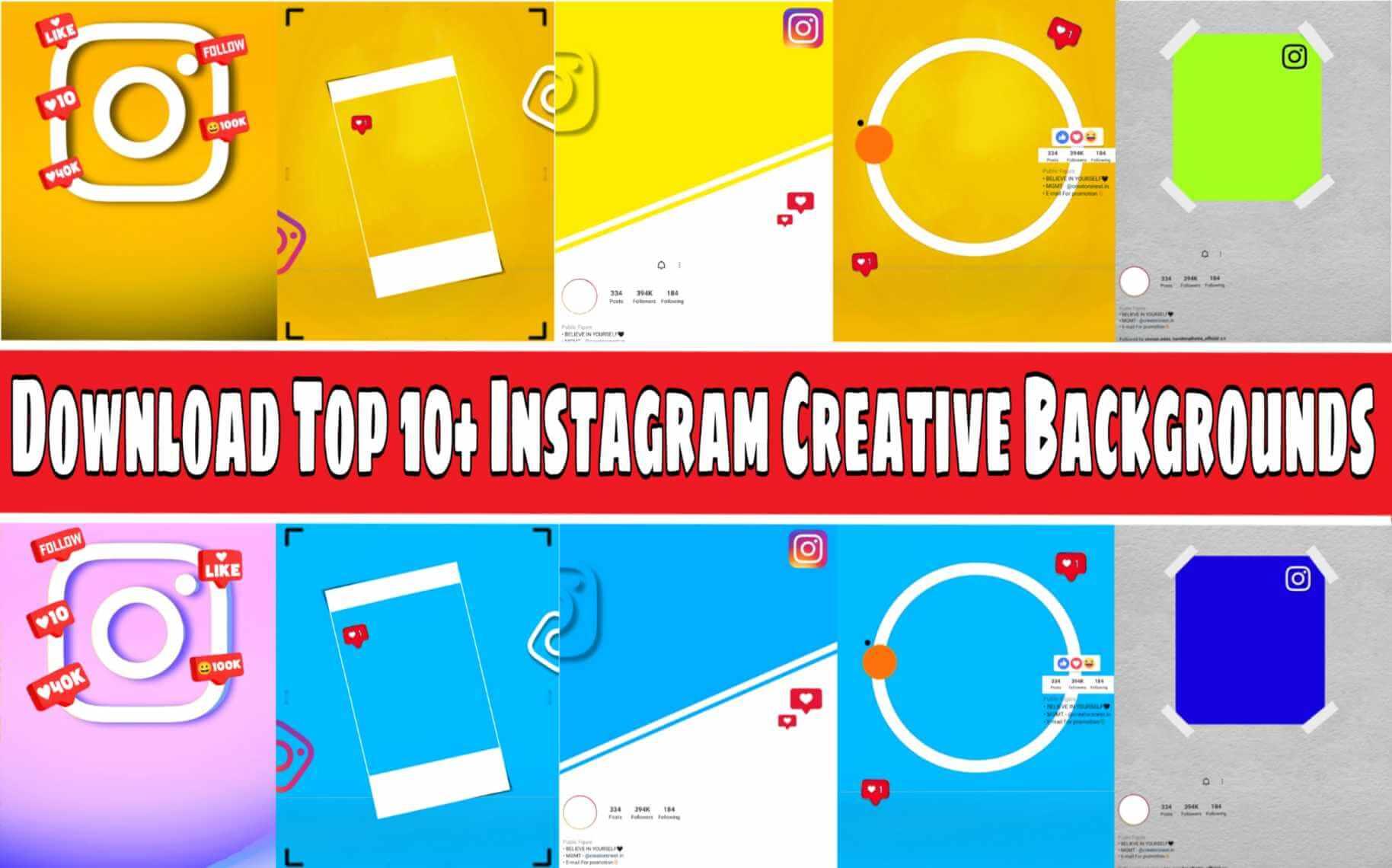 Instagram Creative Background