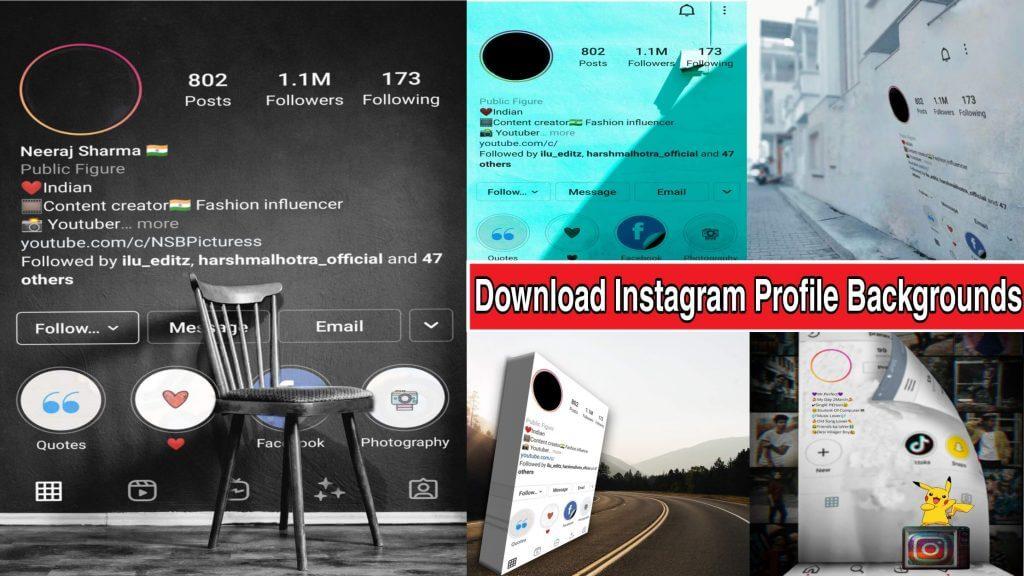 top 5 instagram profile background