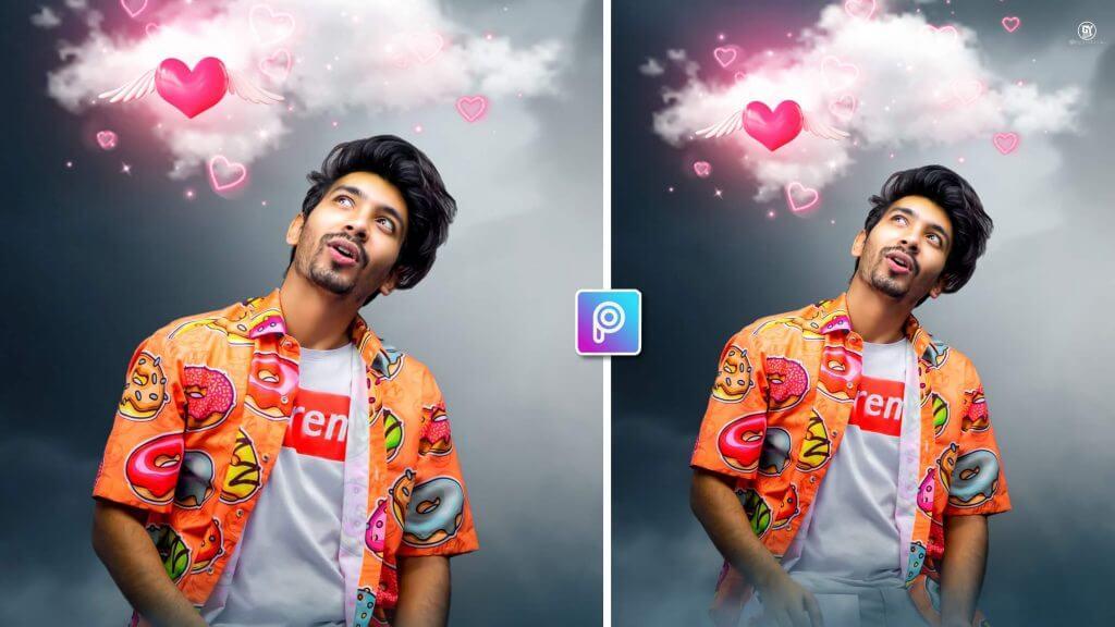 heart photo editing