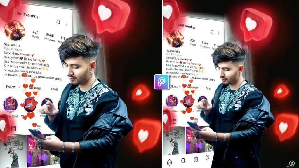 instagram photo editing