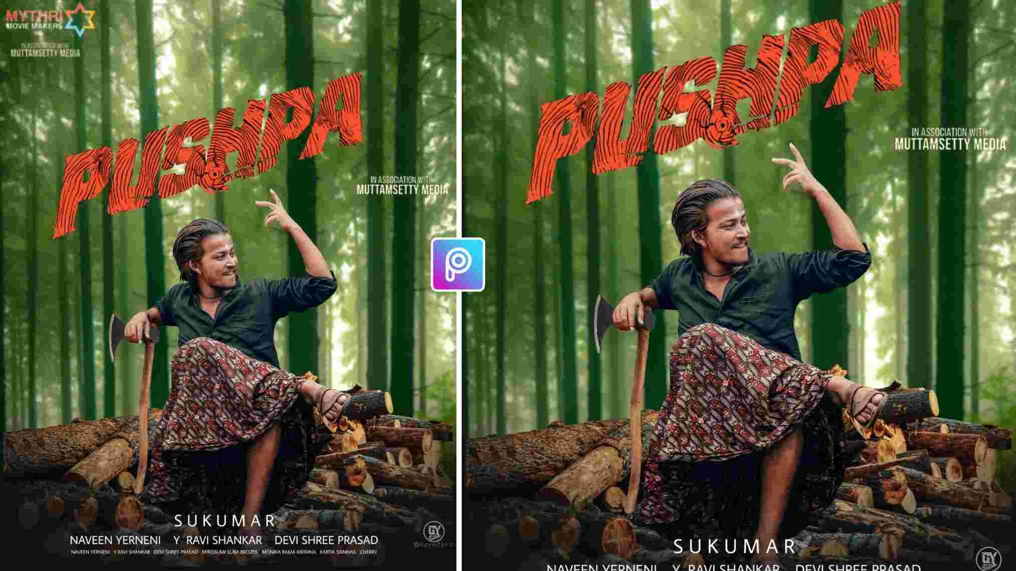 movie poster photo editing