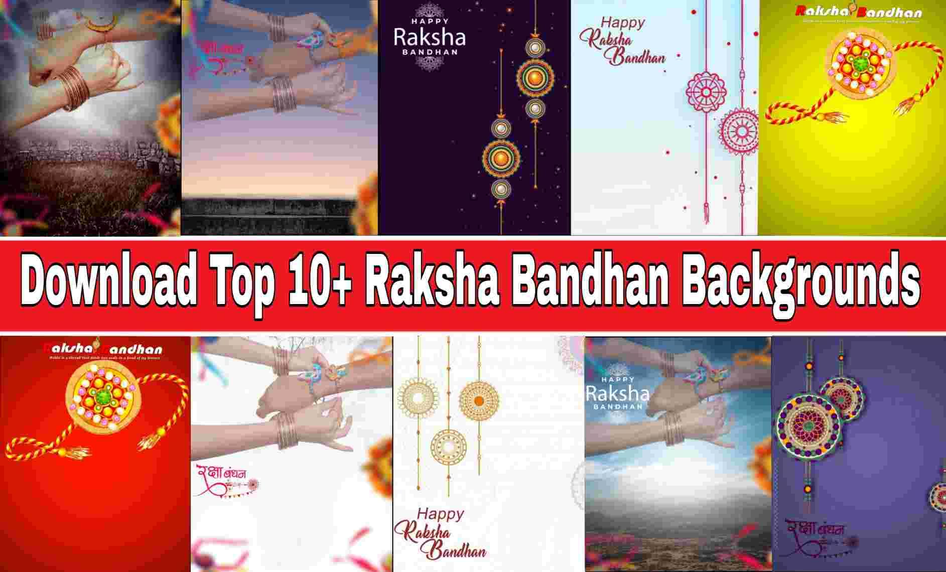 Top 10+ Raksha Bandhan Background Download