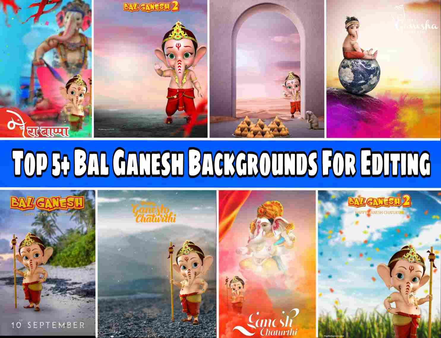 Bal Ganesh Background