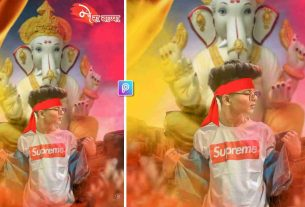 Ganesh chaturthi photo editing