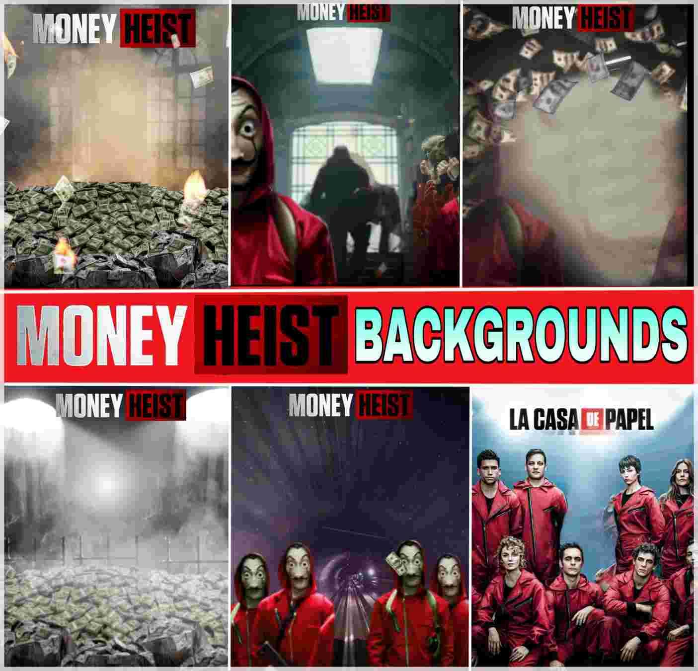 Money Heist Background