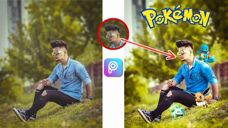 Pokeman Photo Editing