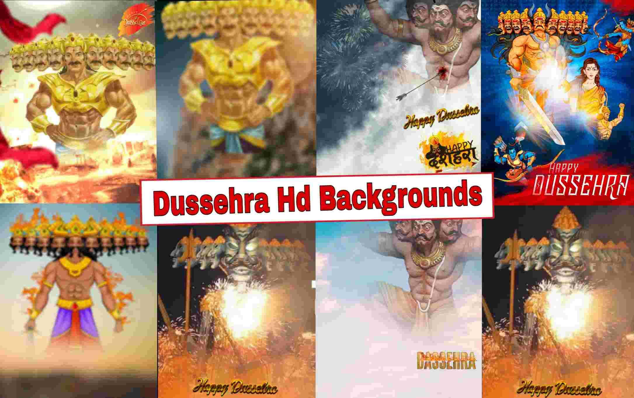 Dussehra Editing Background