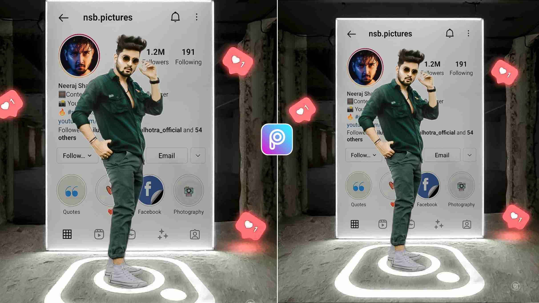 Instagram Profile Photo Editing