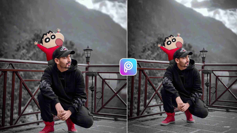 Shinchan Photo Editing